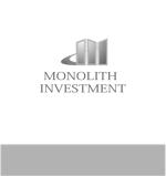 新規会社 不動産 賃貸 経営 MONOLITH INVESTMENT のロゴへの提案