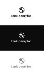 jp_tomoさんのショットバー「karisomaybe」ロゴへの提案
