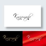 zen634さんのショットバー「karisomaybe」ロゴへの提案