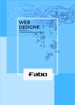 acaneさんのWEB制作会社のパンフレット表紙デザインへの提案