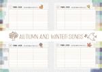 mosu123さんの吹奏楽譜「秋冬特集」への提案