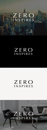 tanaka10さんの輸入ビジネスのベンチャー企業『ZERO INSPIRES』のロゴへの提案