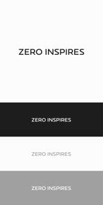 designdesignさんの輸入ビジネスのベンチャー企業『ZERO INSPIRES』のロゴへの提案