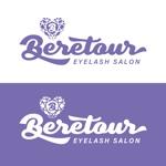 ronsunnさんのまつげエクステサロン「Beretour」(ベルトゥール)のロゴへの提案