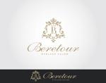 ORI-GINさんのまつげエクステサロン「Beretour」(ベルトゥール)のロゴへの提案