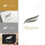 charisabseさんのまつげエクステサロン「Beretour」(ベルトゥール)のロゴへの提案