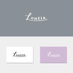 elly07さんのアパレル、アクセサリーのショップで使用する「Lontia」のロゴへの提案