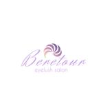 papapomさんのまつげエクステサロン「Beretour」(ベルトゥール)のロゴへの提案