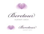tukasagumiさんのまつげエクステサロン「Beretour」(ベルトゥール)のロゴへの提案