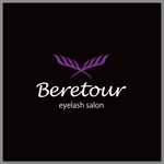 slash_miyamotoさんのまつげエクステサロン「Beretour」(ベルトゥール)のロゴへの提案