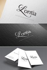 hi06さんのアパレル、アクセサリーのショップで使用する「Lontia」のロゴへの提案