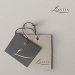 ranyさんのアパレル、アクセサリーのショップで使用する「Lontia」のロゴへの提案