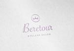 ALTAGRAPHさんのまつげエクステサロン「Beretour」(ベルトゥール)のロゴへの提案