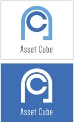taki-5000さんの事業内容変更に伴う「株式会社Asset Cube」法人ロゴのリ・デザインへの提案