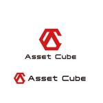 saki8さんの事業内容変更に伴う「株式会社Asset Cube」法人ロゴのリ・デザインへの提案