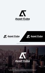 take5-designさんの事業内容変更に伴う「株式会社Asset Cube」法人ロゴのリ・デザインへの提案