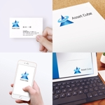pacimoさんの事業内容変更に伴う「株式会社Asset Cube」法人ロゴのリ・デザインへの提案