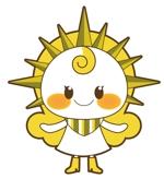 美容室のロゴをモチーフにした可愛らしいキャラクターデザインへの提案