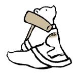 hk0124さんの商品パッケージに使用する「しろくま」のイラストへの提案