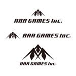 ronsunnさんのオンラインゲーム会社「AAA GAMES Inc.」のロゴへの提案