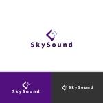 viracochaabinさんの製造業向けAIサービス「SkySound」ロゴへの提案