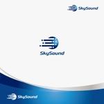 chiaroさんの製造業向けAIサービス「SkySound」ロゴへの提案