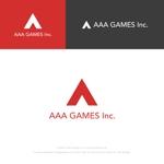 musaabezさんのオンラインゲーム会社「AAA GAMES Inc.」のロゴへの提案