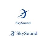 saki8さんの製造業向けAIサービス「SkySound」ロゴへの提案