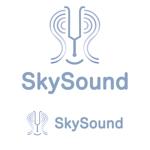 k_oshiroさんの製造業向けAIサービス「SkySound」ロゴへの提案