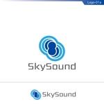 fs8156さんの製造業向けAIサービス「SkySound」ロゴへの提案