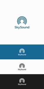 designdesignさんの製造業向けAIサービス「SkySound」ロゴへの提案