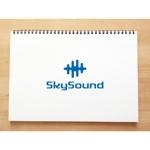 yusa_projectさんの製造業向けAIサービス「SkySound」ロゴへの提案