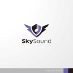sa_akutsuさんの製造業向けAIサービス「SkySound」ロゴへの提案