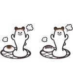 satokeikoさんの商品パッケージに使用する「しろくま」のイラストへの提案