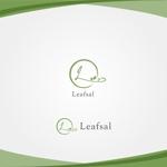 タピオカ、喫茶店「Leafsal」のロゴへの提案