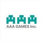 I-I_yasuharaさんのオンラインゲーム会社「AAA GAMES Inc.」のロゴへの提案
