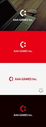 tanaka10さんのオンラインゲーム会社「AAA GAMES Inc.」のロゴへの提案
