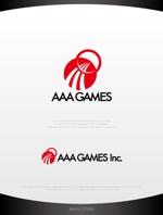 mahou-photさんのオンラインゲーム会社「AAA GAMES Inc.」のロゴへの提案