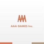 shojiroさんのオンラインゲーム会社「AAA GAMES Inc.」のロゴへの提案