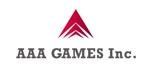 t_800さんのオンラインゲーム会社「AAA GAMES Inc.」のロゴへの提案