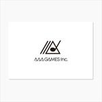 chapterzenさんのオンラインゲーム会社「AAA GAMES Inc.」のロゴへの提案