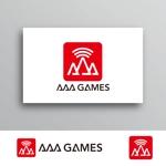 White-designさんのオンラインゲーム会社「AAA GAMES Inc.」のロゴへの提案