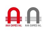 threewheelsさんのオンラインゲーム会社「AAA GAMES Inc.」のロゴへの提案