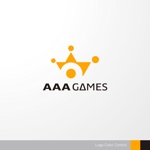 sa_akutsuさんのオンラインゲーム会社「AAA GAMES Inc.」のロゴへの提案