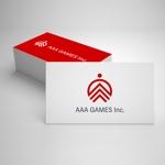 heichanさんのオンラインゲーム会社「AAA GAMES Inc.」のロゴへの提案