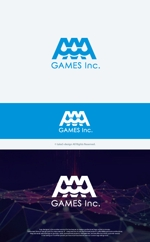take5-designさんのオンラインゲーム会社「AAA GAMES Inc.」のロゴへの提案