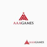 atomgraさんのオンラインゲーム会社「AAA GAMES Inc.」のロゴへの提案