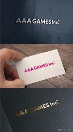 cozenさんのオンラインゲーム会社「AAA GAMES Inc.」のロゴへの提案