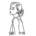 cocoloco_dhさんのスタイリッシュな女性の線画・ラインアートイラスト募集/新規オープンのマツエクサロンのロゴに使用への提案