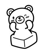 misao_wouowさんの商品パッケージに使用する「しろくま」のイラストへの提案